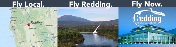 Fly Local.Fly Redding.Fly Now